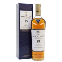 The Macallan 15 Years Old Double Oak Single Malt Scotch Whisky 700ml