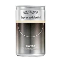 Curatif Archie Rose Espresso Martini Pack Of 4 Escape Series Canned Cocktail 4x120ml