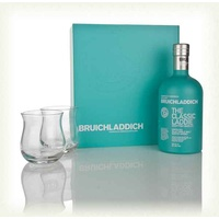 Bruichladdich The Classic Laddie Gift Pack 700ml + 2 Glasses