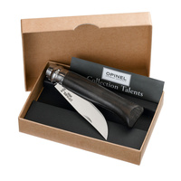 Opinel No 8 Classic Luxury Ebony Handle Stainless Steel Blade