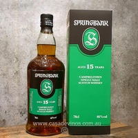 Springbank 15yo Single Malt Scotch Whisky 700ml