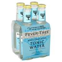 Fever Tree Mediterranean Tonic Water 330ml - 4pack
