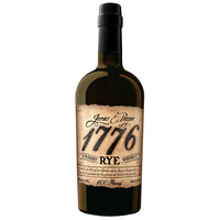 James E Pepper 1776 Rye Straight Whisky 750ml