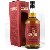Springbank 17yo Serry Wood Single Malt Whisky 700ml