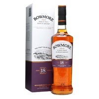 Bowmore 18yo Islay Single Malt Scotch Whisky 700ml