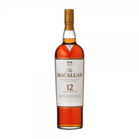 The Macallan 12yo Sherry Oak Single Malt Whisky 750ml