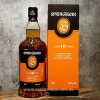 Springbank 10yo Single Malt Scotch Whisky 700ml
