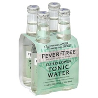 Fever Tree Eldeflower Tonic Water 4 pack