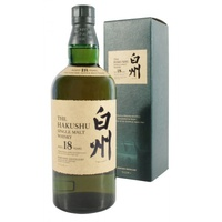 Hakushu 18yo Single Malt Japanese Whisky 700ml