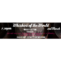 Whiskies of the WORLD - Whisky Tasting 02.03.2017