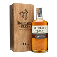 Highland Park 25yo Single Malt Whisky 700ml