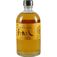 Akashi White Oak 5yo Bourbon Cask Japanese Whisky 500ml