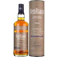 BenRiach 11yo 2006 Sauternes Barrel, Cask #1855 Single Malt Scotch Whisky 30ml