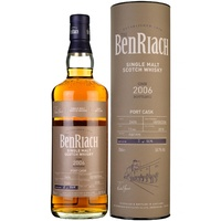 BenRiach 11yo 2006 Port Pipe Cask #2406 Single Malt Scotch Whisky 700ml