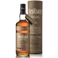BenRiach 12yo 2005 Peated Port Pipe Cask #2682 Single Malt Scotch Whisky 700ml