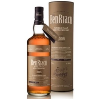 BenRiach 12yo 2005 Oloroso Sherry Butt, Cask #5014 Single Malt Scotch Whisky 700ml