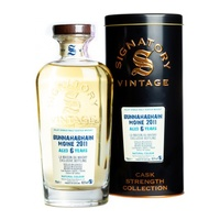 Bunnahabhain Moine 6yo 2011 Signatory Vintage Cask Strength Single Malt Scotch Whisky 700ml