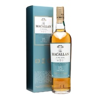 The Macallan 15yo Fine Oak Single Malt Scotch Whisky 700ml