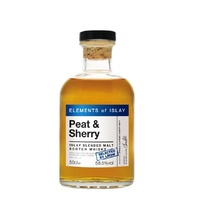 Elements of Islay Peat & Sherry Blended Malt Scotch Whisky 500ml