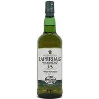 Laphroaig 18yo Single Malt Scotch Whisky (700ml)