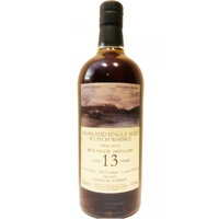 Hidden Spirits Ben Nevis 13 Year Old 2006 Single Malt Scotch Whisky 700ml