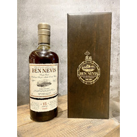 Ben Nevis 15 Year Old 1998 Refill Sherry Cask #586 Single Malt Scotch Whisky 700ml