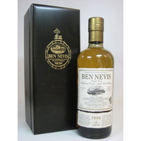 Ben Nevis 18 Year Old 1998 Bourbon Hogshead #1395 Single Malt Scotch Whisky 700ml