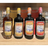Caroni Rum Age Statement Collection - 12, 15, 17 and 21yo 700ml