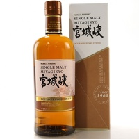 Miyagikyo Bourbon Wood Finish 2018 Edition Single Malt Japanese Whisky 700ml