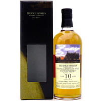 Glen Ord 2009 10yo Hidden Spirits 53.3%