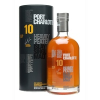 Bruichladdich Port Charlotte Scottish Barley 10yo 2nd Edition Single Malt Whisky 50ml