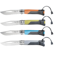 OPINEL No. 8 Outdoor Survival Knife - Original in Box 4 Colours