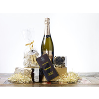 Gourmet Food Christmas Gift Hamper - A Sweet Tooth with Bubbles