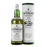 Laphroaig Islay 10 year old Single Malt Scotch Whisky 43% 750ml