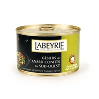 Labeyrie Duck Gesiers 385g  - Made in France - 385 grams