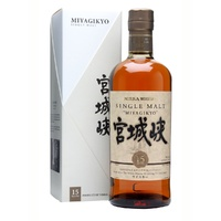 Nikka Miyagikyo 15 yo Japanese Single Malt 700ml