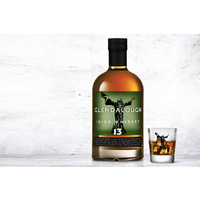 Glendalough 13 Year Irish Single Malt  Whiskey 700ml