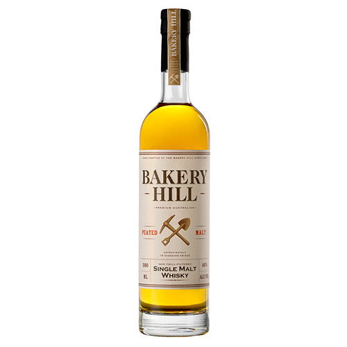 Bakery Hill Peated Malt Single Malt Whisky 500ml