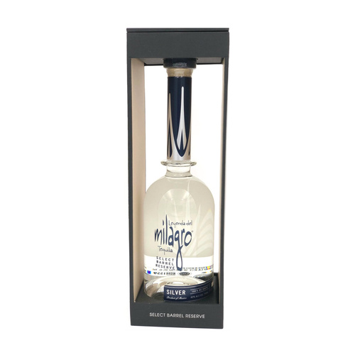 Milagro Select Barrel Reserve Silver Mexican Tequila 750ml