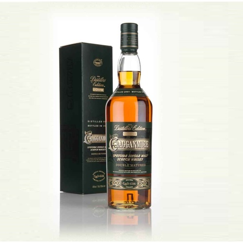 Cragganmore Distillers Edition Single Malt Scotch Whisky 700ml