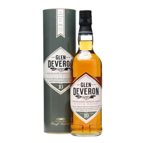 Glen Deveron 10yo Scotch Single Malt Whisky 700ml