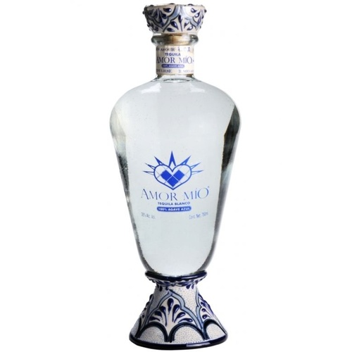 Amor Mio Blanco Tequila 100% Agave Tequila 750ml