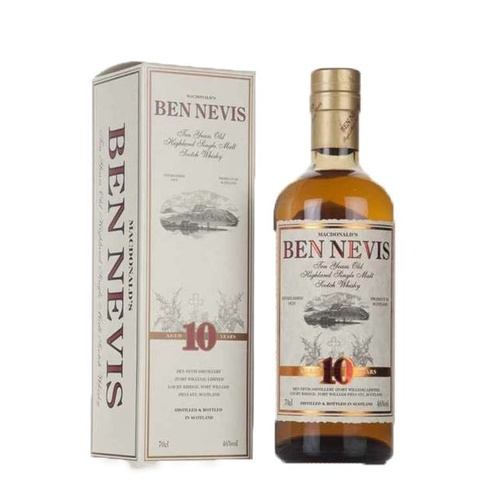 Ben Nevis 10yo Single Malt Scotch Whisky 700ml