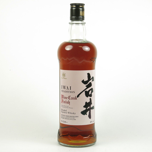 Mars Iwai Tradition Wine Finish Blended Japanese Whisky 750ml