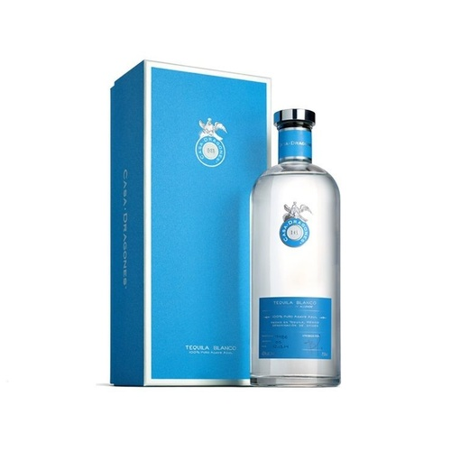 Casa Dragones Blanco Tequila 100% Agave 750ml