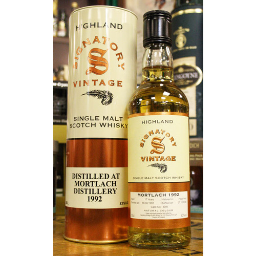 Mortlach 13yo 2002 Single Malt Scotch Whisky 700ml