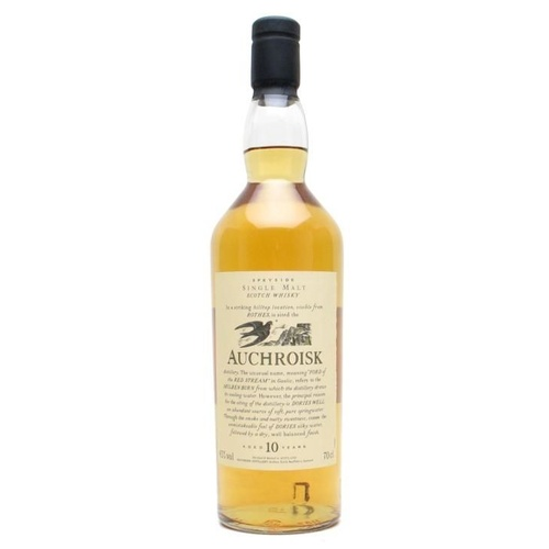 Auchriosk 10yo Foora and Fauna Single Malt Scotch Whisky 700ml