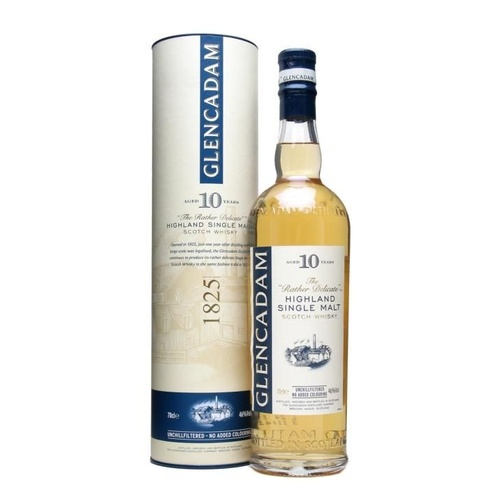 Glencadam 10yo Single Malt Scotch Whisky 700ml