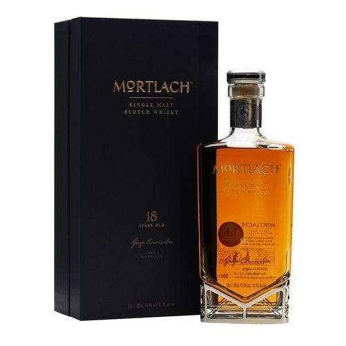 Mortlach 18 yo Single Malt Scotch Whisky - 500ml