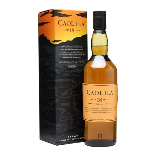 Caol Ila 18yo Single Malt Scotch Whisky 700ml
